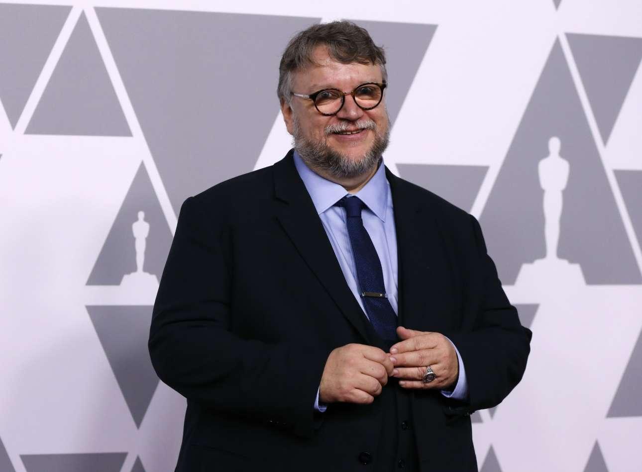 Ο Γκιγιέρμο ντελ Τόρο, υποψήφιος τόσο για Οσκαρ σκηνοθεσίας όσο και για Καλύτερης Ταινίας για το φιλμ «Η Μορφή του Νερού»