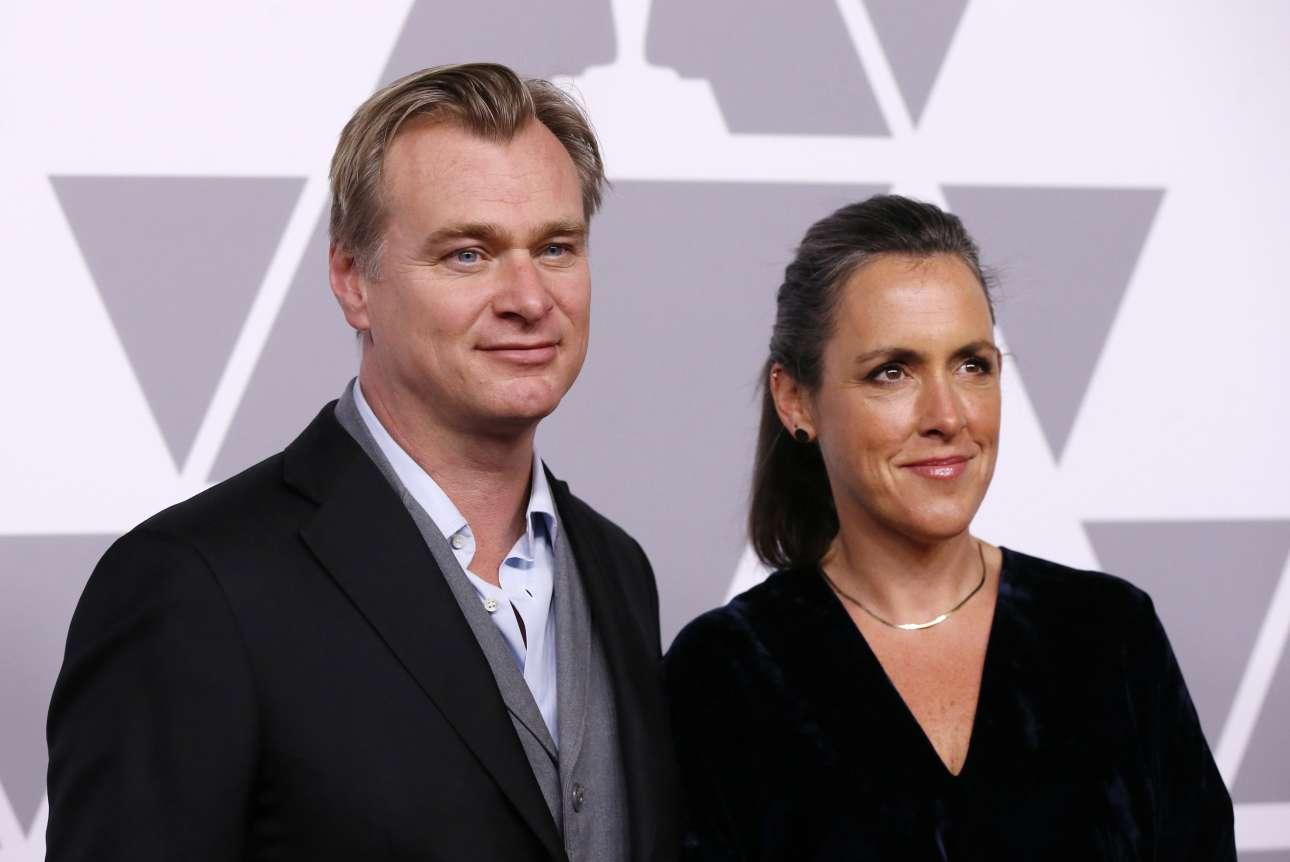 Ο Κρίστοφερ Νόλαν με την παραγωγό Εμα Τόμας. Η «Δουνκέρκη» είναι υποψήφια, μεταξύ άλλων, για Οσκαρ σκηνοθεσίας καθώς για το βραβείο Καλύτερης Ταινίας