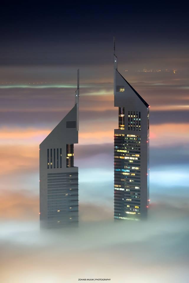 Η ζωή μέσα στα σύννεφα.. μερικοί από τους ουρανοξύστες του Ντουμπάι ξεπερνούν τους 100 ορόφους