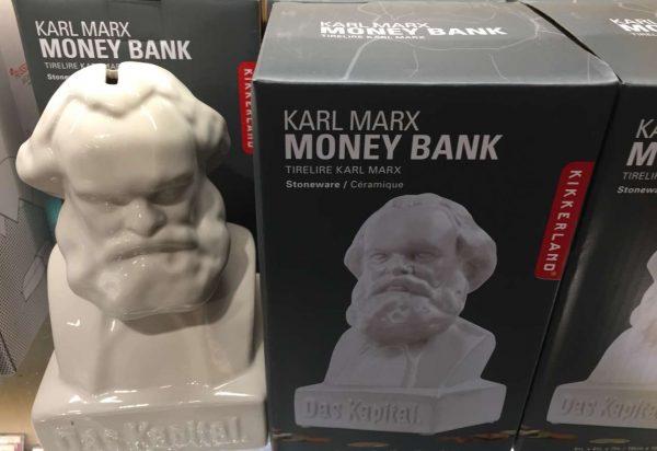 Ο Μαρξ ως κουμπάρας συσσωρεύει Το Κεφάλαιο