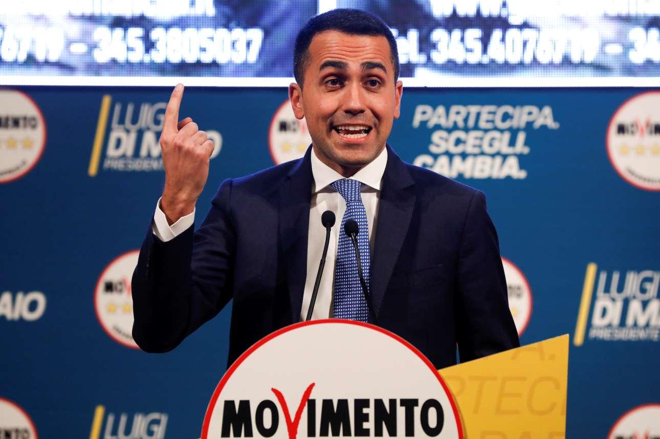 Ο Ντ Μάιο ηγείται του Κινήματος 5 Αστέρων που προηγείται δημοσκοπικά σε επίπεδο κομμάτων (REUTERS/ Ciro De Luca/ File Photo)