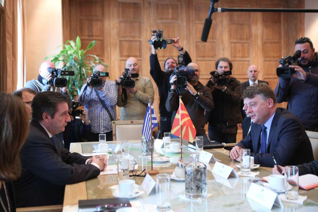 Από τις συνομιλίες των δύο σημάρχων (George Vitsaras / SOOC)