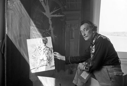 epa06051541 (FILE) - A June 1966 pictures shows Spanish artist Salvador Dali at his residence in Cadaques, Catalonia, northeastern Spain. The remains of Dali will be exhumated by order of a judge in order to obtain samples to determine the paternity of Pilar Abel, who has brought a paternity suit as his daughter on 26 June 2017. Dali died in Figueres, Spain on 23 January 1989.  EPA/LAMA ONE TIME USE ONLY  EDITORIAL USE ONLY/NO SALES/NO ARCHIVES