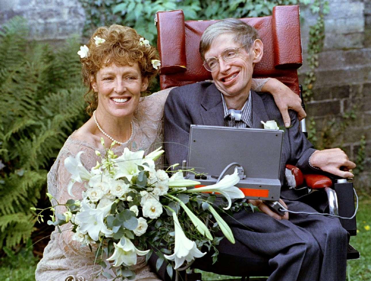 Πέντε χρόνια μετά το διαζύγιο του, ο Χόκινγκ παντρεύτηκε τη νοσοκόμα του Ελέιν Μέισον