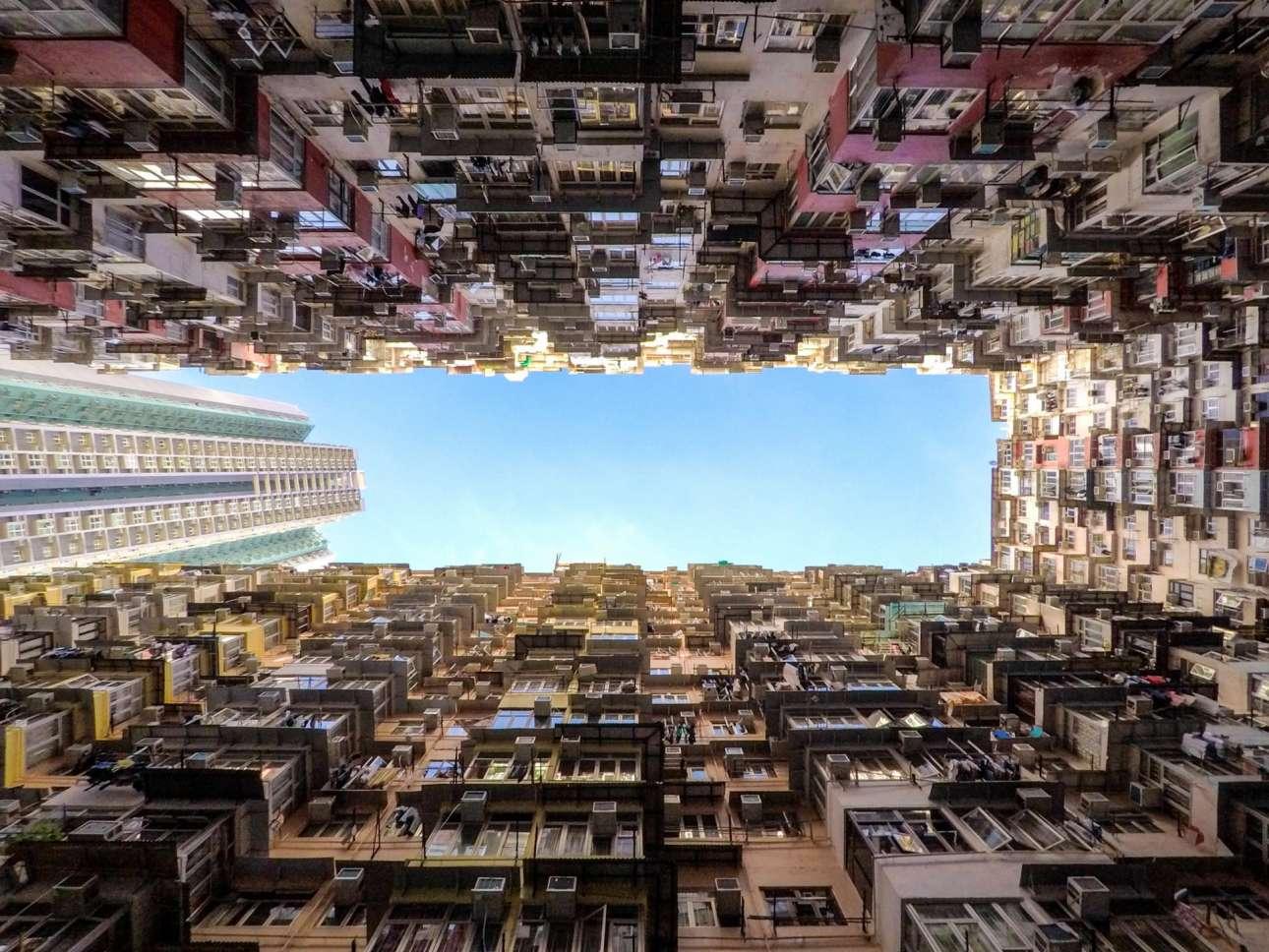Φιναλίστ κατηγορία Αστικό Τοπίο. Το πολυφωτογραφημένο σύμπλεγμα κατοικιών Montane Mansion στο Χονγκ Κονγκ