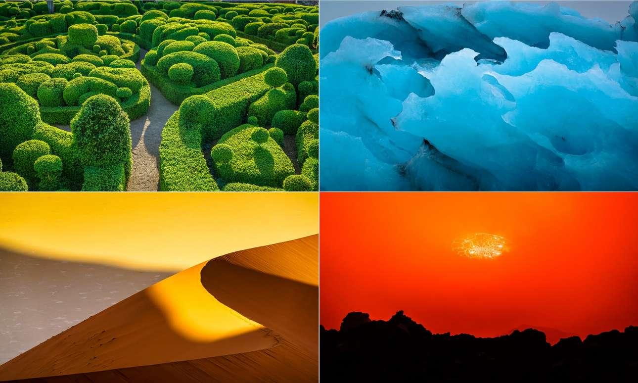 Βραβείο κατηγορία Πορτφόλιο. Ο Ντάνιελ Μπάρτον δημιούργησε μία σειρά από φωτογραφίες βασισμένος στα τέσσερα στοιχεία της Φύσης: γη, αέρα, νερό και φωτιά. Οι τέσσερις εικόνες έχουν σχεδιαστεί ως σετ και έχουν τοποθετηθεί ακολουθώντας τη θεωρία των χρωμάτων