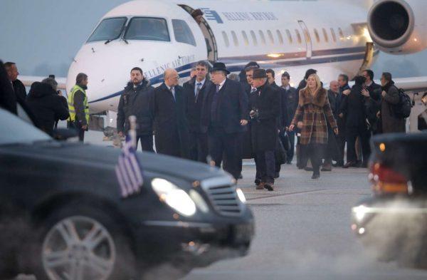 Φυσικά, δεν μπορεί να μείνει ασχολίαστο το καπέλο που φορούσε ο Νίκος Κοτζιάς (ΤΟΣΙΔΗΣ ΔΗΜΗΤΡΗΣ/ΙnTimeNews)