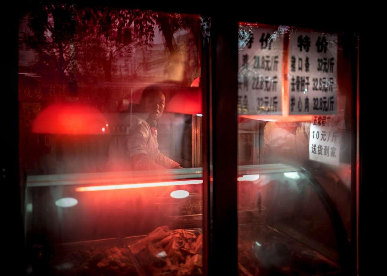 Φιναλίστ κατηγορία Αστικό Τοπίο. Ενα ατμοσφαιρικό καφέ στο Πεκίνο