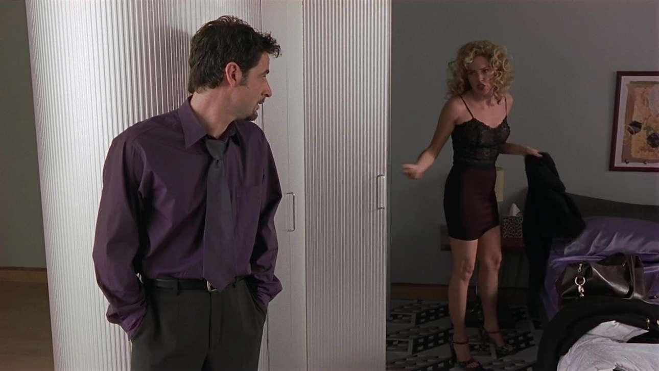 Με τον Τζέρεμι Νόρταν στην «Γκλόρια» (1999), ριμέικ της θρυλικής ταινίας του Τζον Κασαβέτη με την Τζίνα Ρόουλαντς. Καμία σύγκριση...