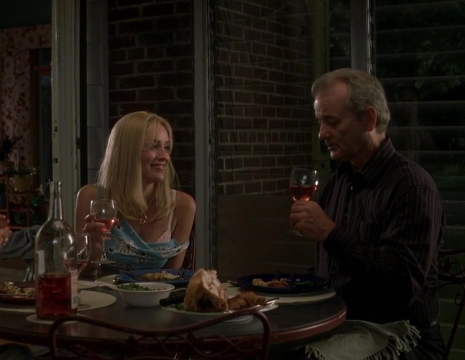 Με τον Μπιλ Μάρεϊ στο υπέροχο «Broken Flowers» (2005) του Τζιμ Τζάρμους