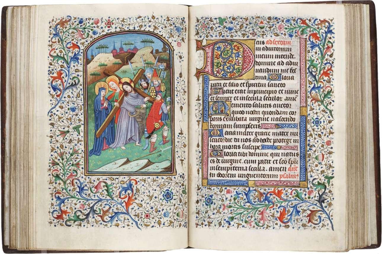 Το Βιβλίο των Ωρών, ένα κειμήλιο του χριστιανισμού από τις αρχές του 1400, υποδεικνύει την ευλαβική προσήλωση των μοναχών καλλιγράφων της εποχής