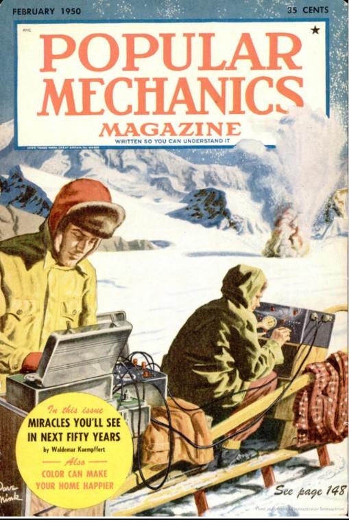 Στο τεύχος του Φεβρουαρίου του 1950, το περιοδικό Popular Mechanics είχε δημοσιεύσει άρθρο που αναφερόταν σε εναέρια μέσα μαζικής μεταφοράς και σε ιδιωτικά ελικόπτερα