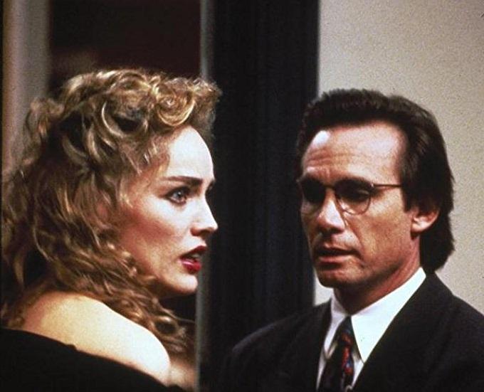 Με τον Στιβ Ρέιλσμπακ στο θρίλερ «Scissors» (1991)