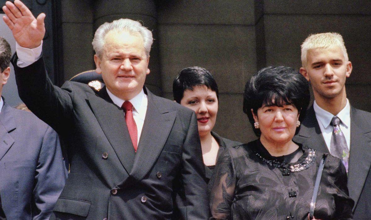 Slobodan Milošević i Mira Marković
