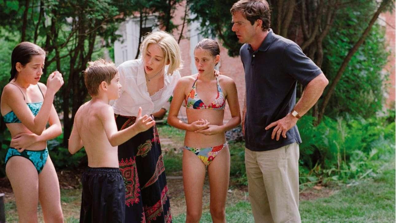 Με τον Ντένις Κουέιντ και τη μικρούλα Κίρστεν Στιούαρτ στο «Cold Creek Manor» (2003)