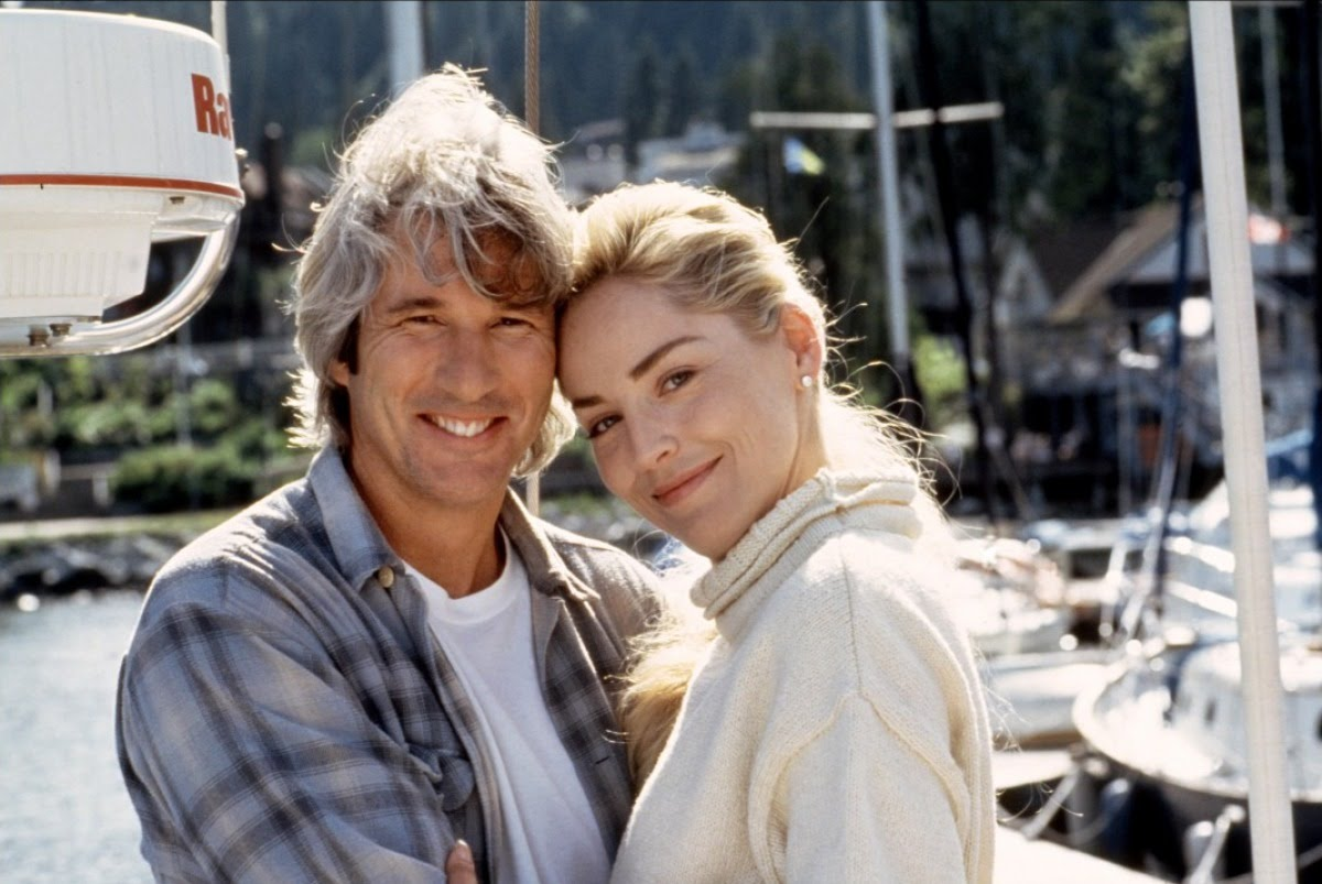 Με τον Ρίτσαρντ Γκιρ στη «Διασταύρωση» (1994)