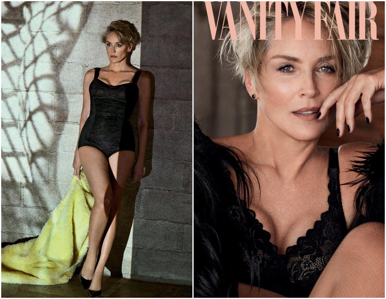 Φωτογραφημένη για τεύχος του Φεβρουαρίου της ιταλικής έκδοσης του Vanity Fair