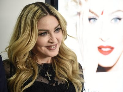 epa05162510 US singer, songwriter and actress Madonna poses during a promotional event in Tokyo, Japan, 15 February 2016. The event was to promote 'MDNA SKIN' skin care brand, a cosmetic line created by Madonna in collaboration with MTG.  EPA/FRANCK ROBICHON