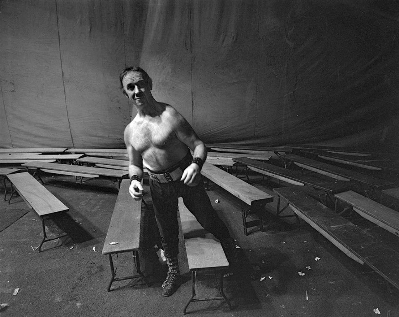 Ο Αρκο Γουίσιπς του τσίρκου Queens Hall στο Λιντς της Βρετανίας, το 1971