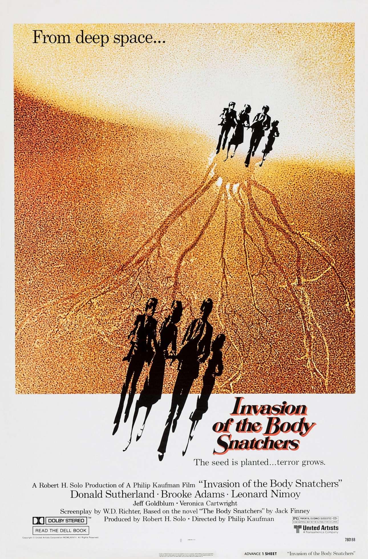 «Invasion of the Body Snatchers», 1978. «Ούτε στα πιο τρελά μου όνειρα δεν θα μπορούσα να είχα προβλέψει την καριέρα που είχα»