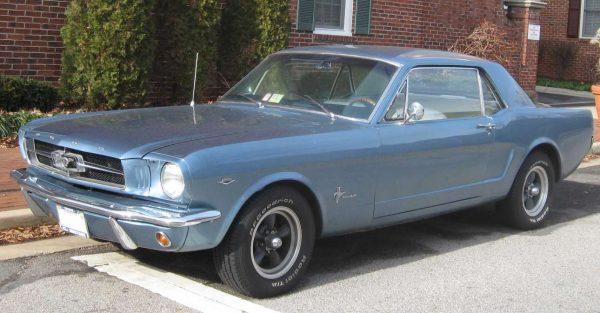 Mustang, του 1964. Από εδώ ξεκίνησαν όλα (Wikimedia Commons)