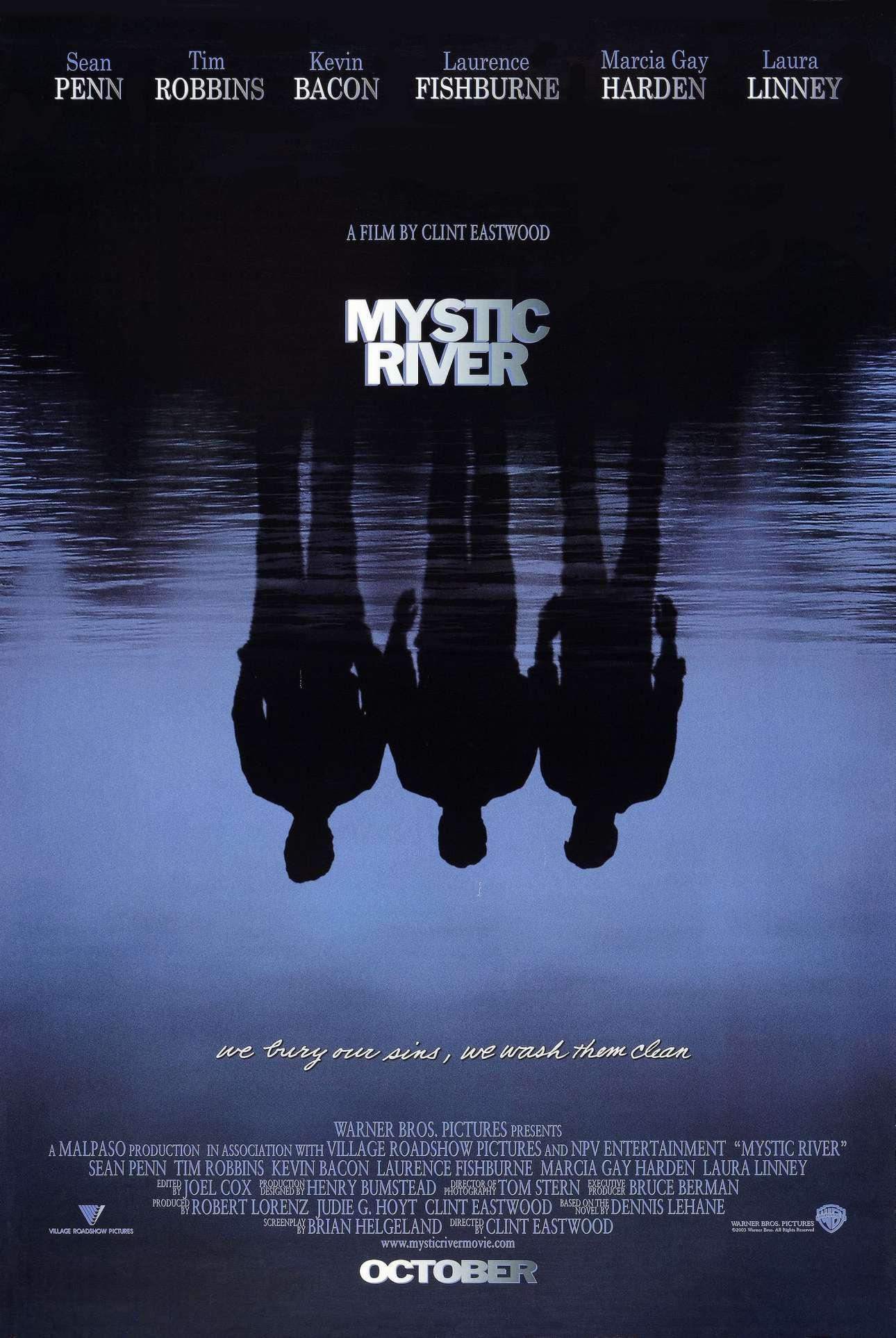 «Σκοτεινό Ποτάμι», 2003. «Νομίζω αυτό που με ενθουσιάζει περισσότερο είναι όταν ακούω για το έργο και ξέρω ποιο είναι το θέμα. Είναι συναρπαστικό να γνωρίζεις πως το θέμα θα τραβήξει τους ανθρώπους που θα δουν την αφίσα, η οποία στη συνέχεια τους εμπνέει να επιλέξουν να δουν την ταινία»