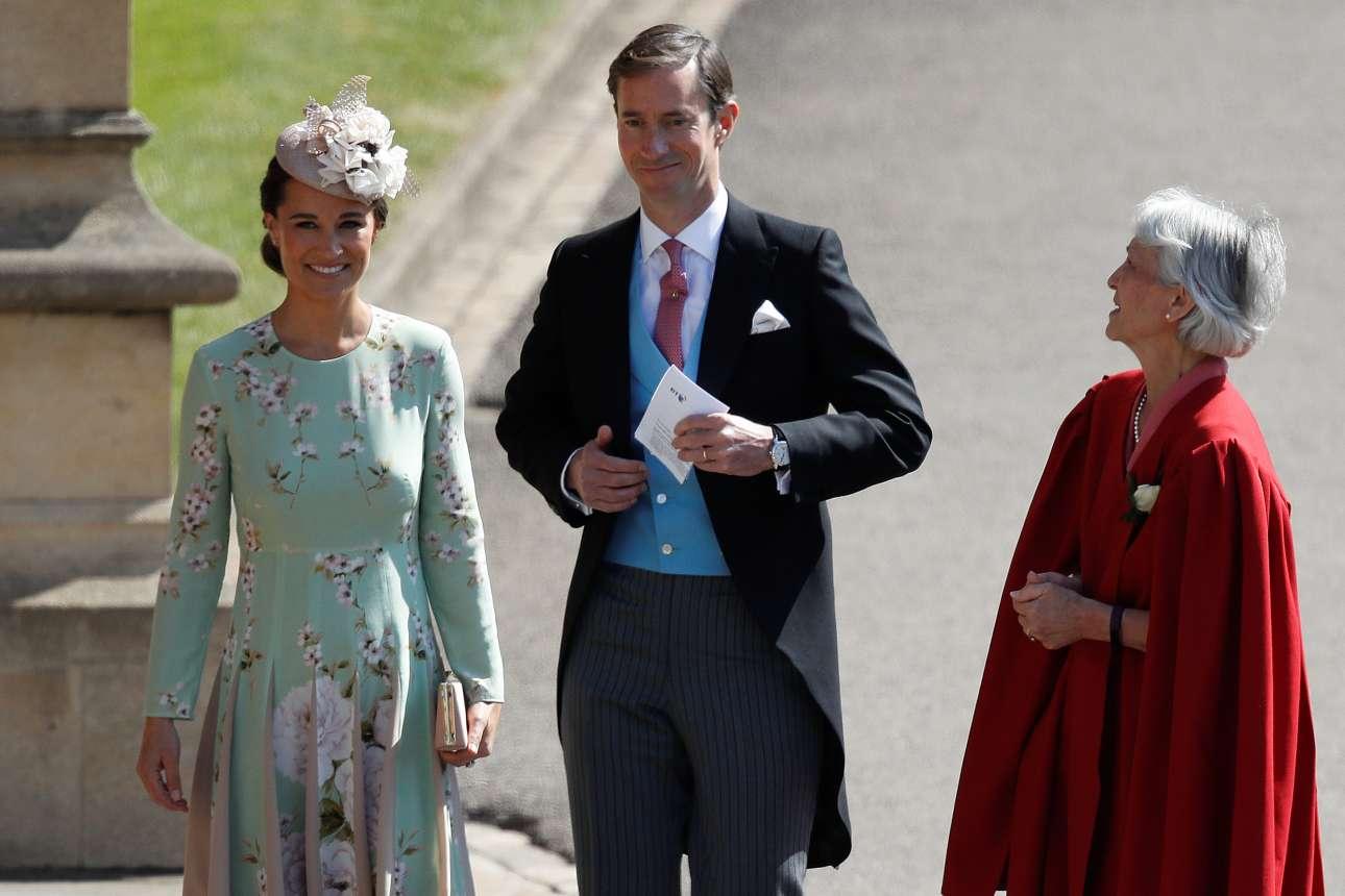 Η Πίπα Μίντλετον -αδελφή της δούκισσας του Κέιμπριτζ Κέιτ, συζύγου του πρίγκιπα Γουίλιαμ- και ο σύζυγός της Τζέιμς Μάθιους