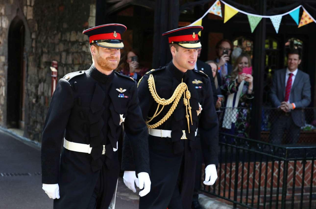 Ο χαρούμενος πρίγκιπας Χάρι με τον πρίγκιπα Γουίλιαμ