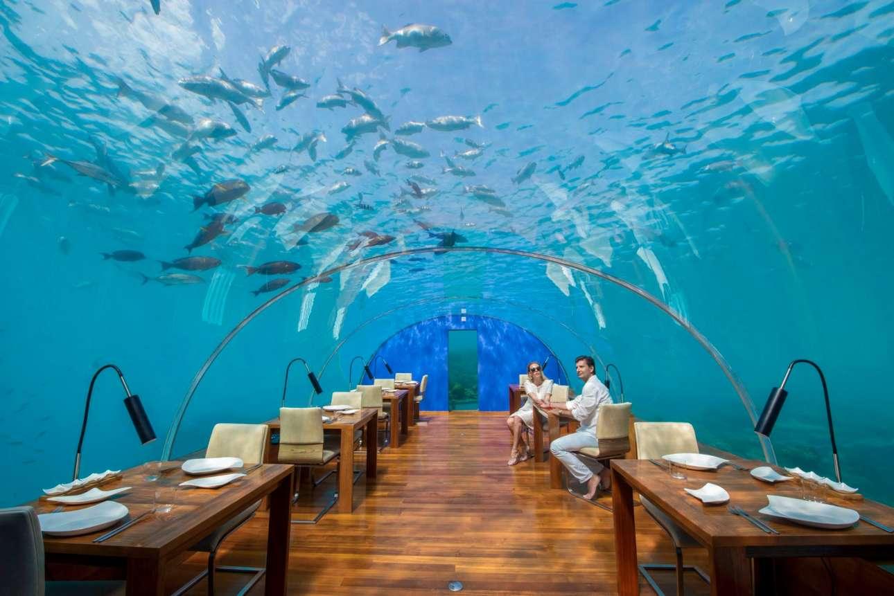 Conrad Maldives Rangali Island/Facebook