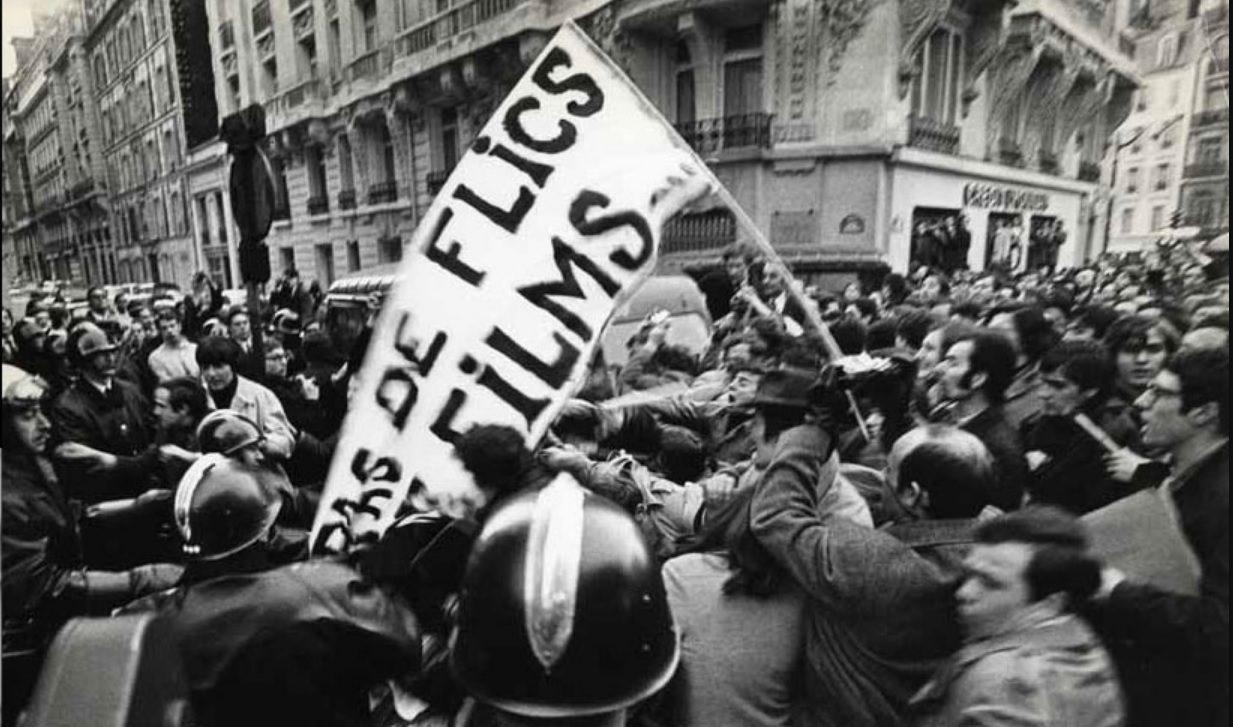 Henri Langlois Demonstration 1968