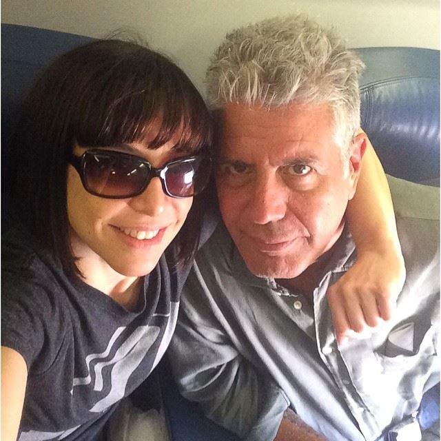 Σέλφι με τη σύζυγό του, Οτάβια, στο Λας Βέγκας το 2014