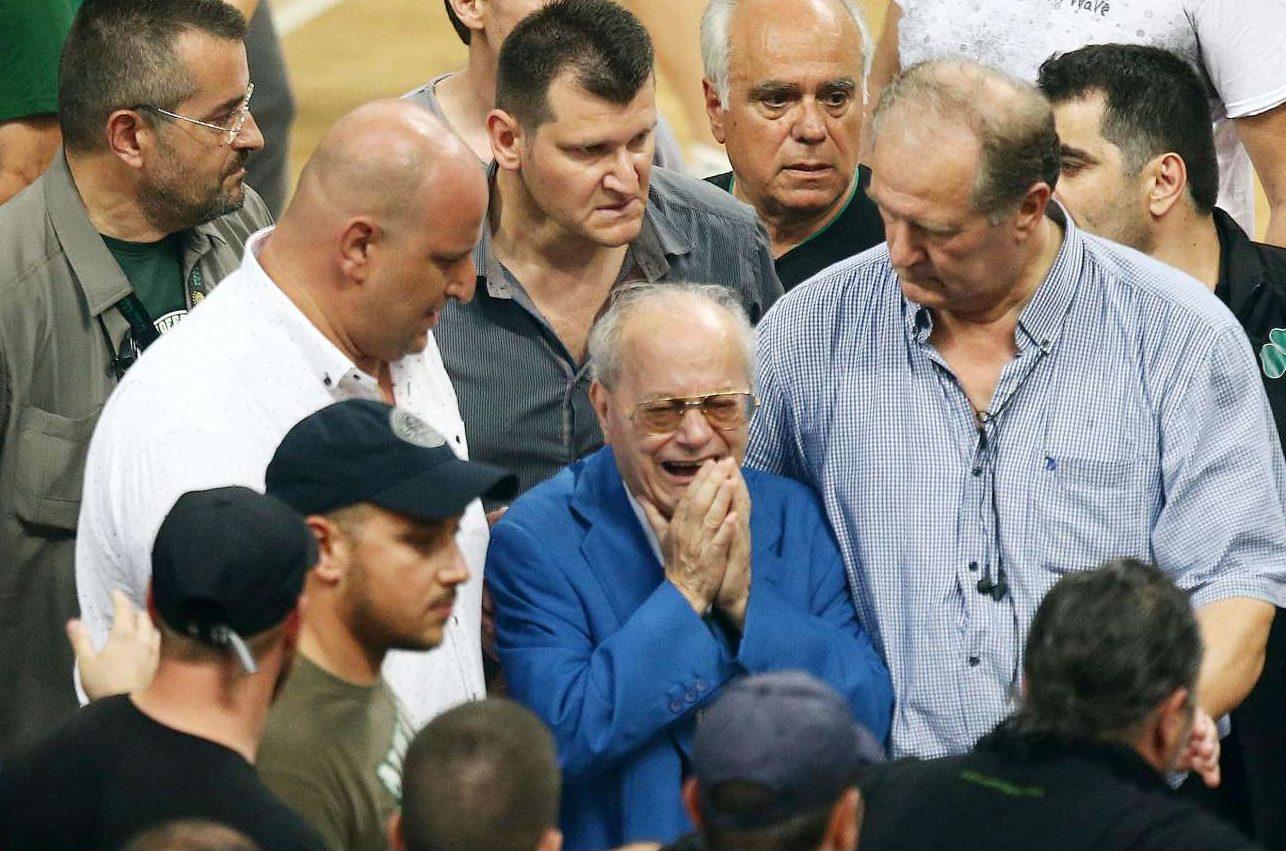 Συγκινημένος ο Θανάσης Γιαννακόπουλος με τη λήξη του αγώνα