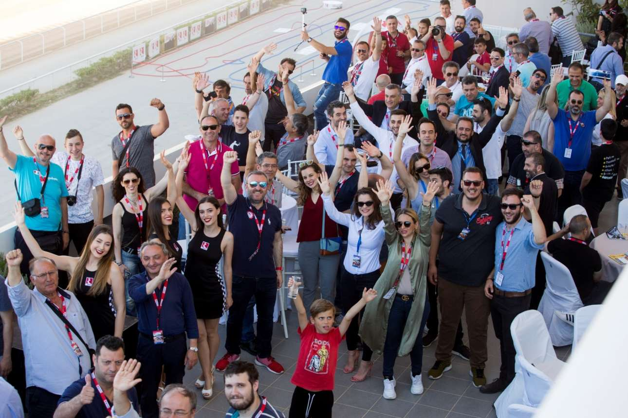 Συνεργάτες και Πρατηριούχοι της ΕΚΟ απολαμβάνουν από τις κερκίδες την Υπερειδική