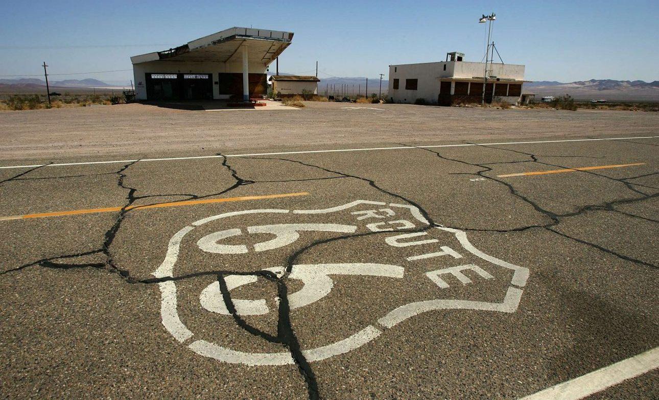 Ξηρασία και εγκατάλειψη κατά μήκος της ιστορικής διαδρομής φωτό: David McNew/Getty Images/Ideal Images)