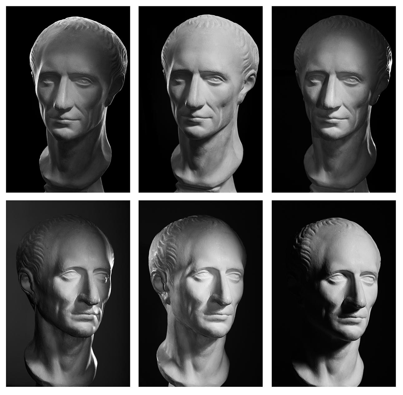 Julius Caesar, Roman Emperor-Different photo-light schemes_4597915sm