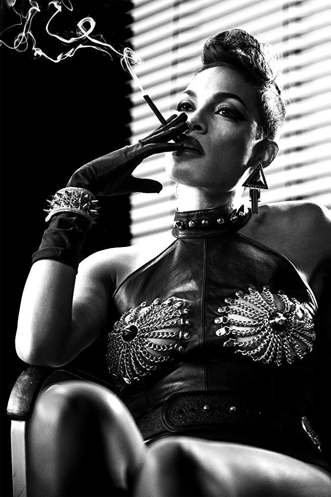 Η Ροζάριο Ντόσον ως δυναμική και σέξι Γκέιλ στην ταινία «Sin City», 2005