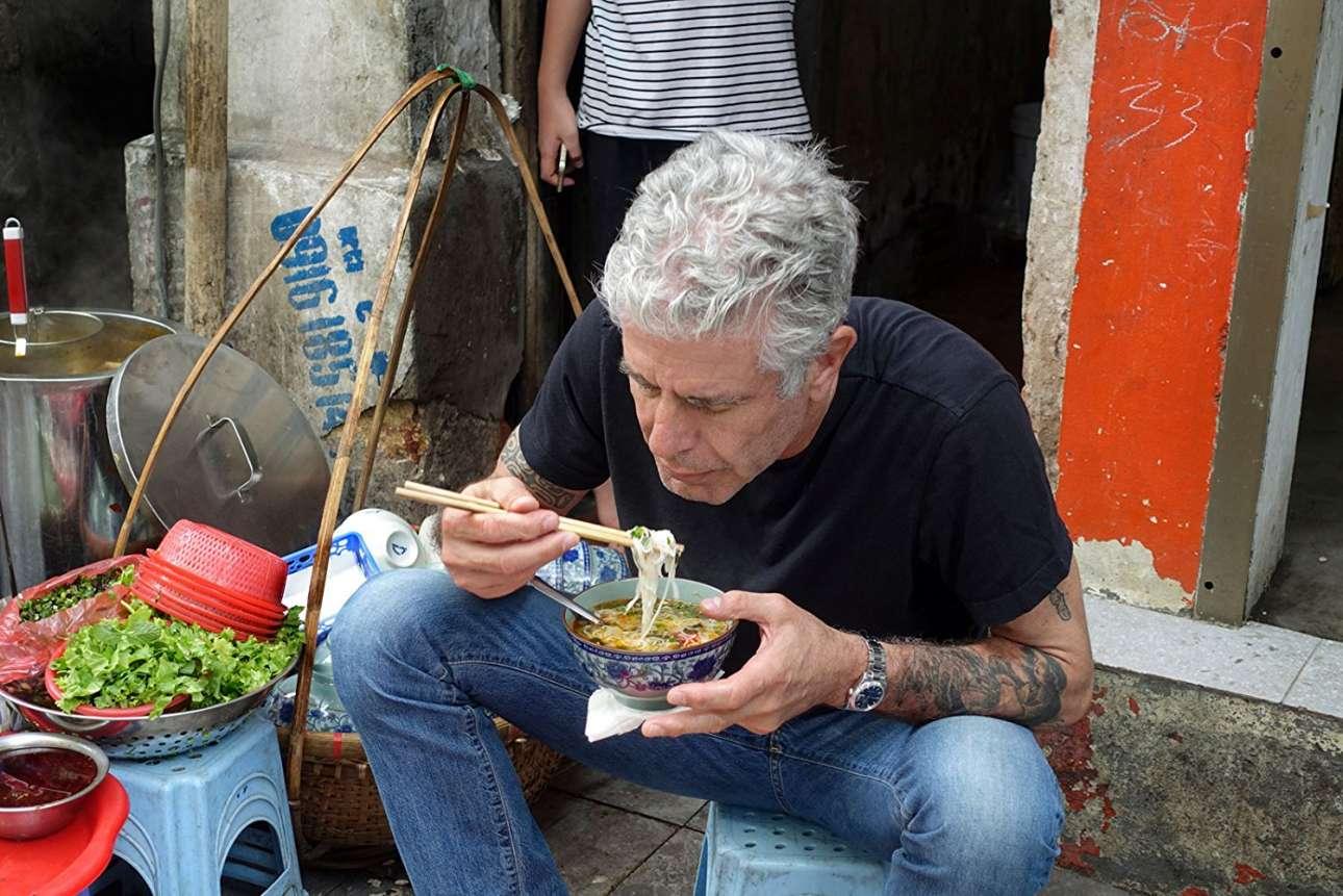 Στο Ανόι το 2013 για ένα επεισόδιο του «Anthony Bourdain: Parts Unknown»