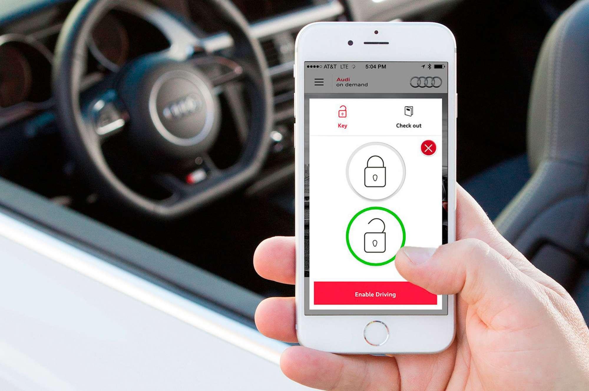Σύντομα όπως φαίνεται τα κινητά μας τηλέφωνα θα τα χρησιμοποιούμε και για να μπαινοβγαίνουμε στα αυτοκίνητα μας αλλά και να τα χρησιμοποιούμε