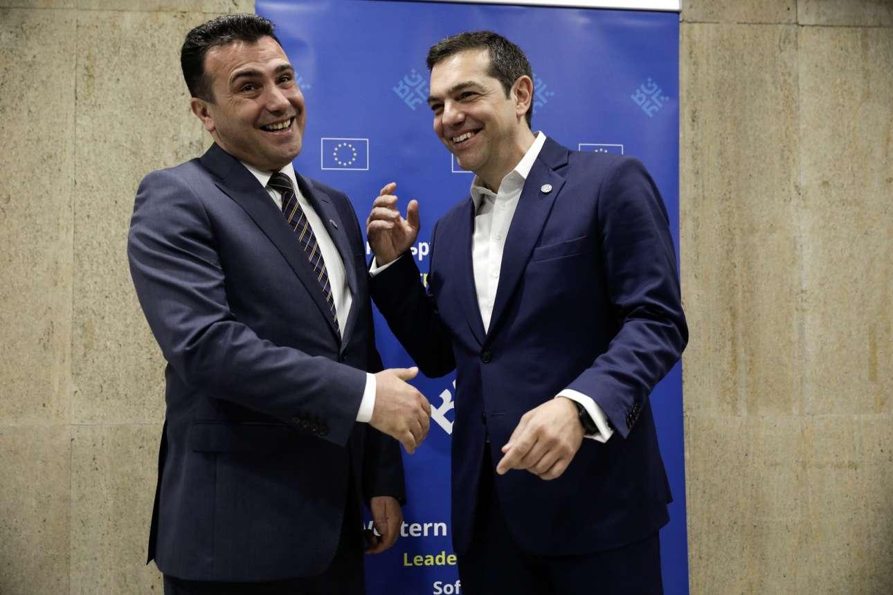 Μάιος 2018. Τσίπρας και Ζάεφ συναντώνται στη Σόφια, βάζοντας τις τελευταίες πινελιές για τη Συμφωνία των Πρεσπών. Ηταν τότε που είχε αποδεχτεί το «Μακεδονία του Ιλιντεν»