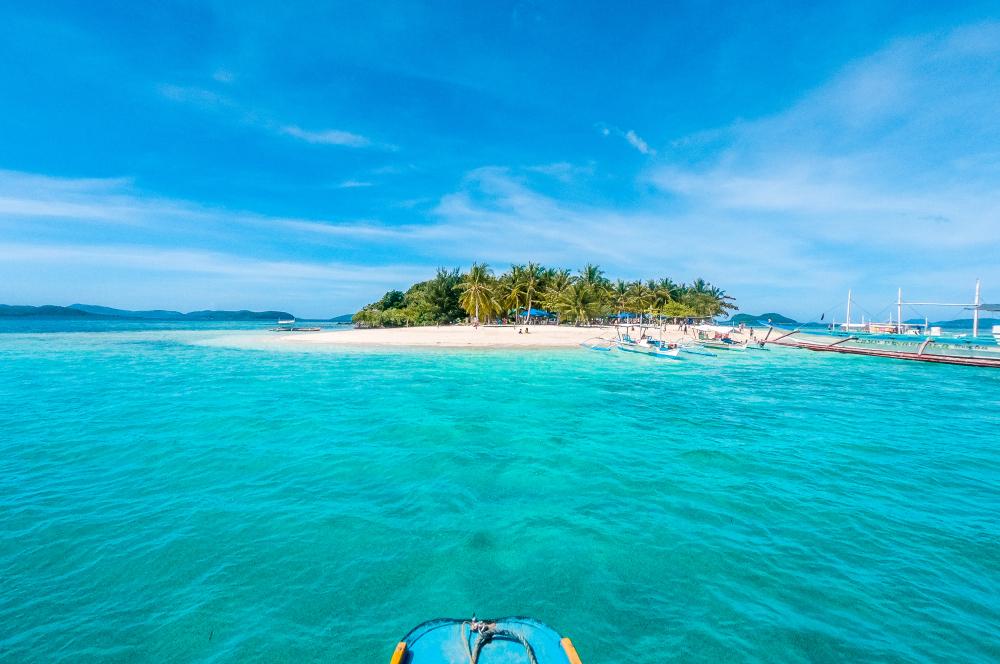 Pass Island in Coron Palawan Philippines