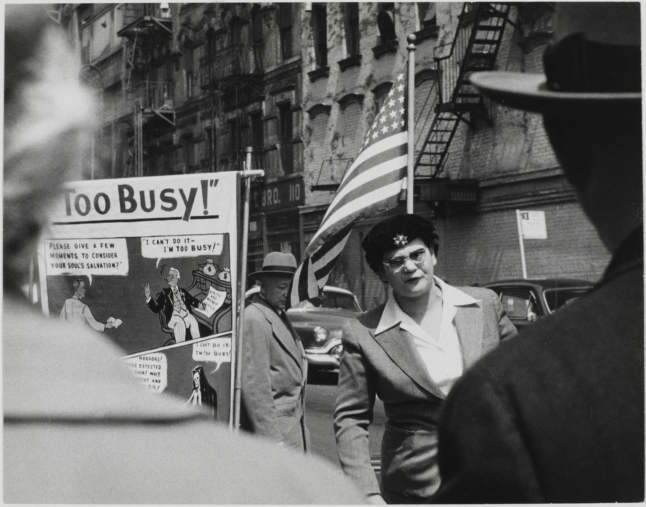 Εκδήλωση στη Νέα Υόρκη, 1955