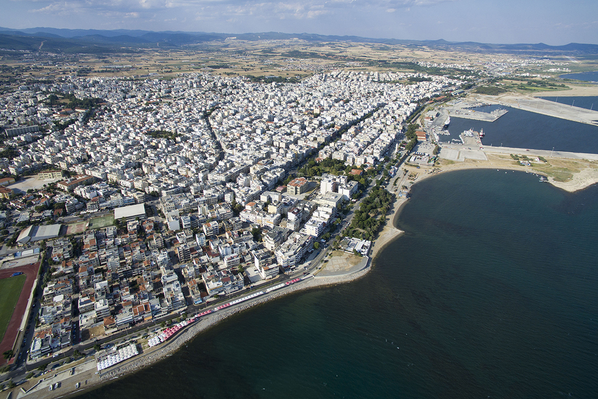 Alexandroupolis city-Greece -16 Drone-Aerial image_473027395sm