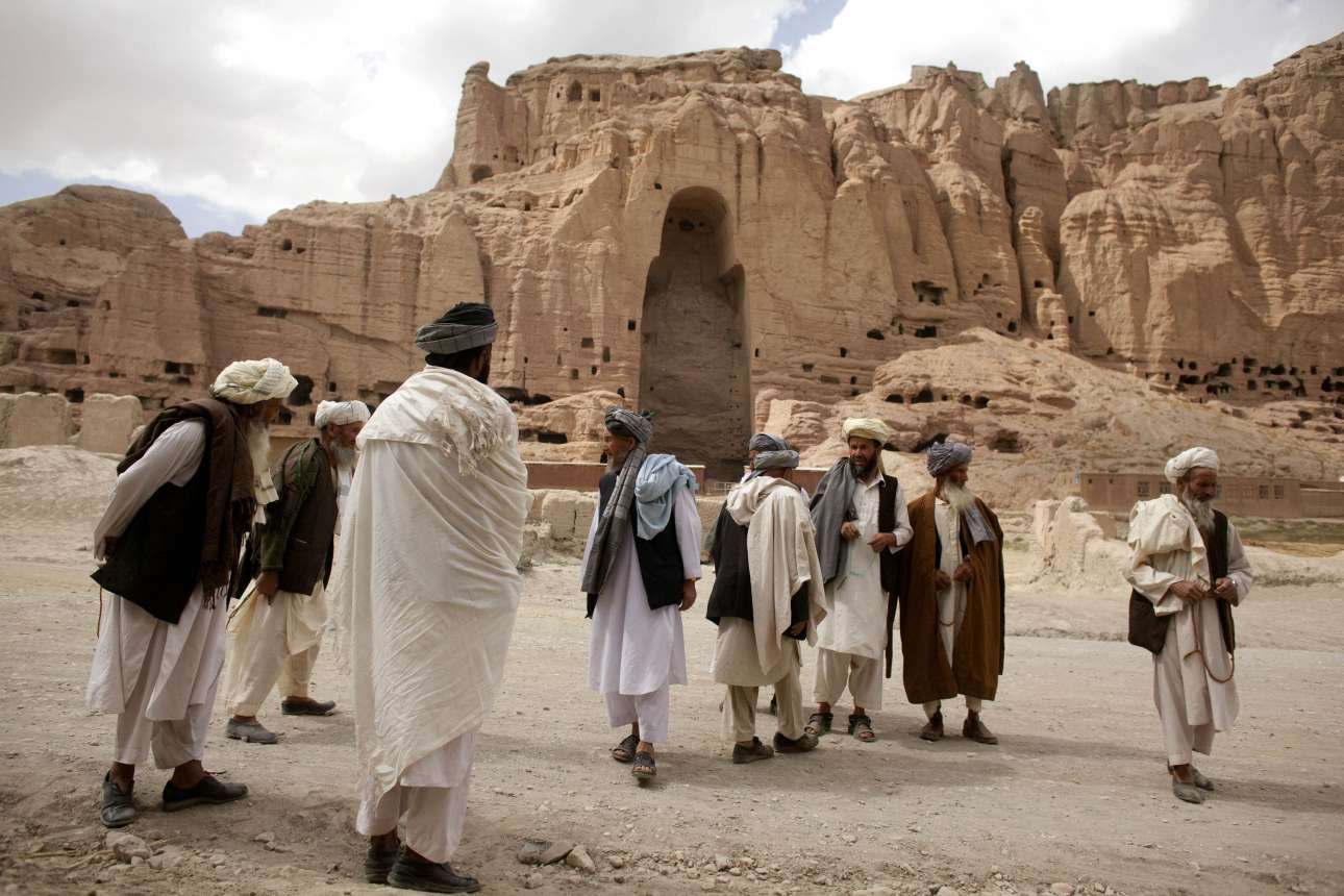 at bamyan in afghanistan predating