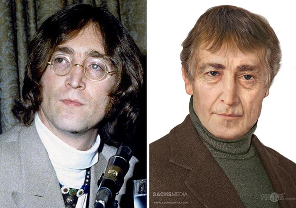 Τζον Λένον. Ο γεννημένος το 1940 κιθαρίστας και τραγουδιστής των Beatles, δολοφονήθηκε το 1980. Σήμερα θα ήταν 77 ετών και θα έμοιαζε αρκετά στον… ηθοποιό Μάικλ Κέιν