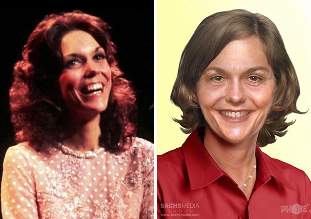 Κάρεν Κάρπεντερ. Η τραγουδίστρια και ντράμερ των Carpenters που πέθανε το 1983 στα 32 της μόλις χρόνια, σήμερα θα ήταν μια καλοστεκούμενη 68άρα