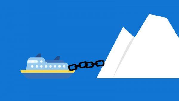H μεταφορά ενός παγόβουνου από την Ανταρκτική στην Νότιο Αφρική είναι εντυπωσιακή αλλά κανείς δεν μπορεί να πει με σιγουριά αν είναι υλοποιήσιμη
