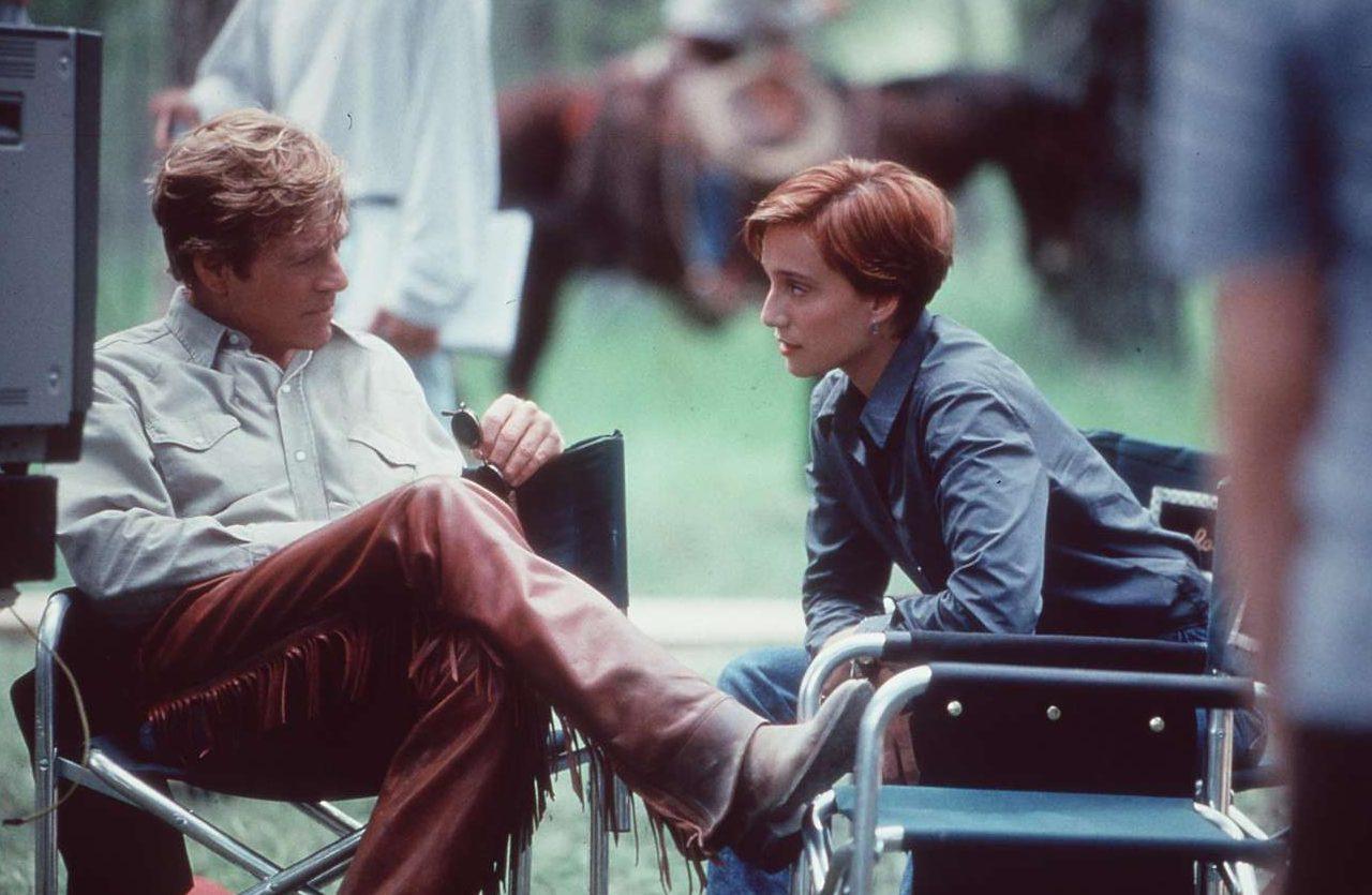 Με την Κρίστιν Σκοτ Τόμας στον «Γητευτή των αλόγων» (1998)