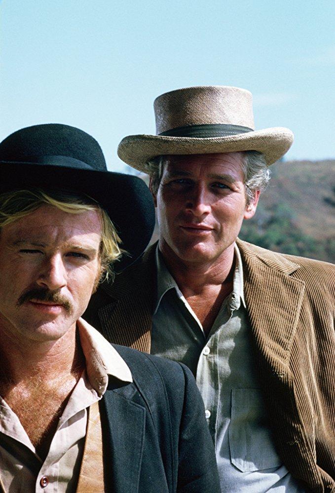 Πιο όμορφοι... πεθαίνεις, Νο2. Με τον αδελφικό του φίλο Πολ Νιούμαν στο «Butch Cassidy and the Sundance Kid» (1969) που στην Ελλάδα προβλήθηκε με τον τίτλο «Οι δύο ληστές»