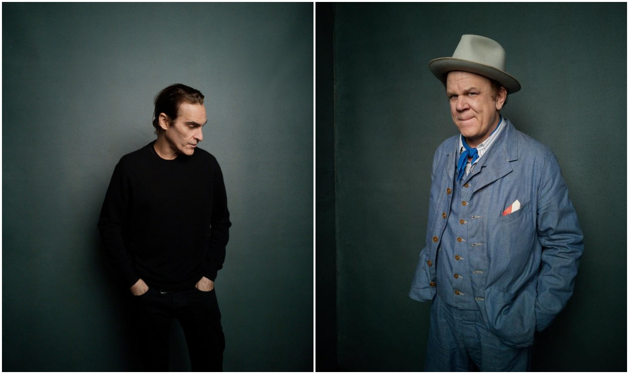 Ο Γιόακιν Φίνιξ και ο Τζον Σι Ράιλι που πρωταγωνιστούν στο «The Sisters Brothers», του βραβευμένου για τη σκηνοθεσία του στη Βενετία Ζακ Οντιάρ