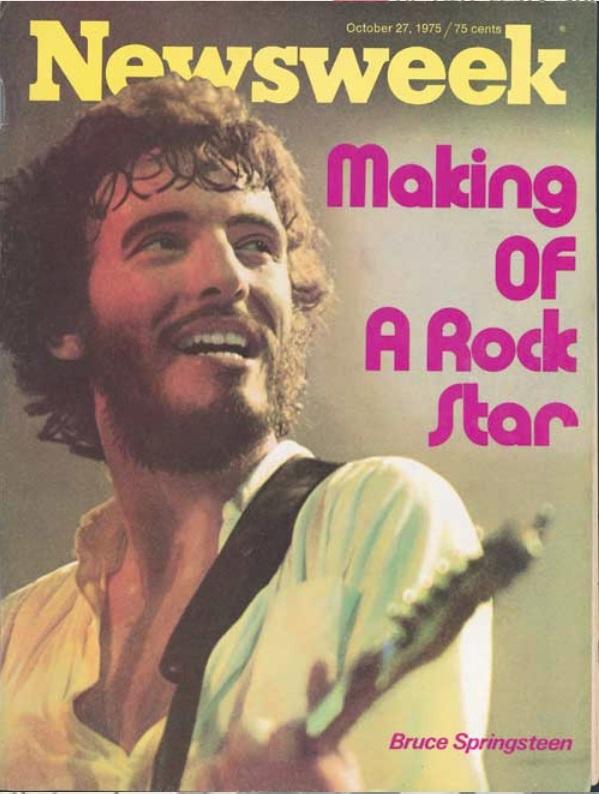 Οκτώβριος 1975, στο εξώφυλλο του Newsweek